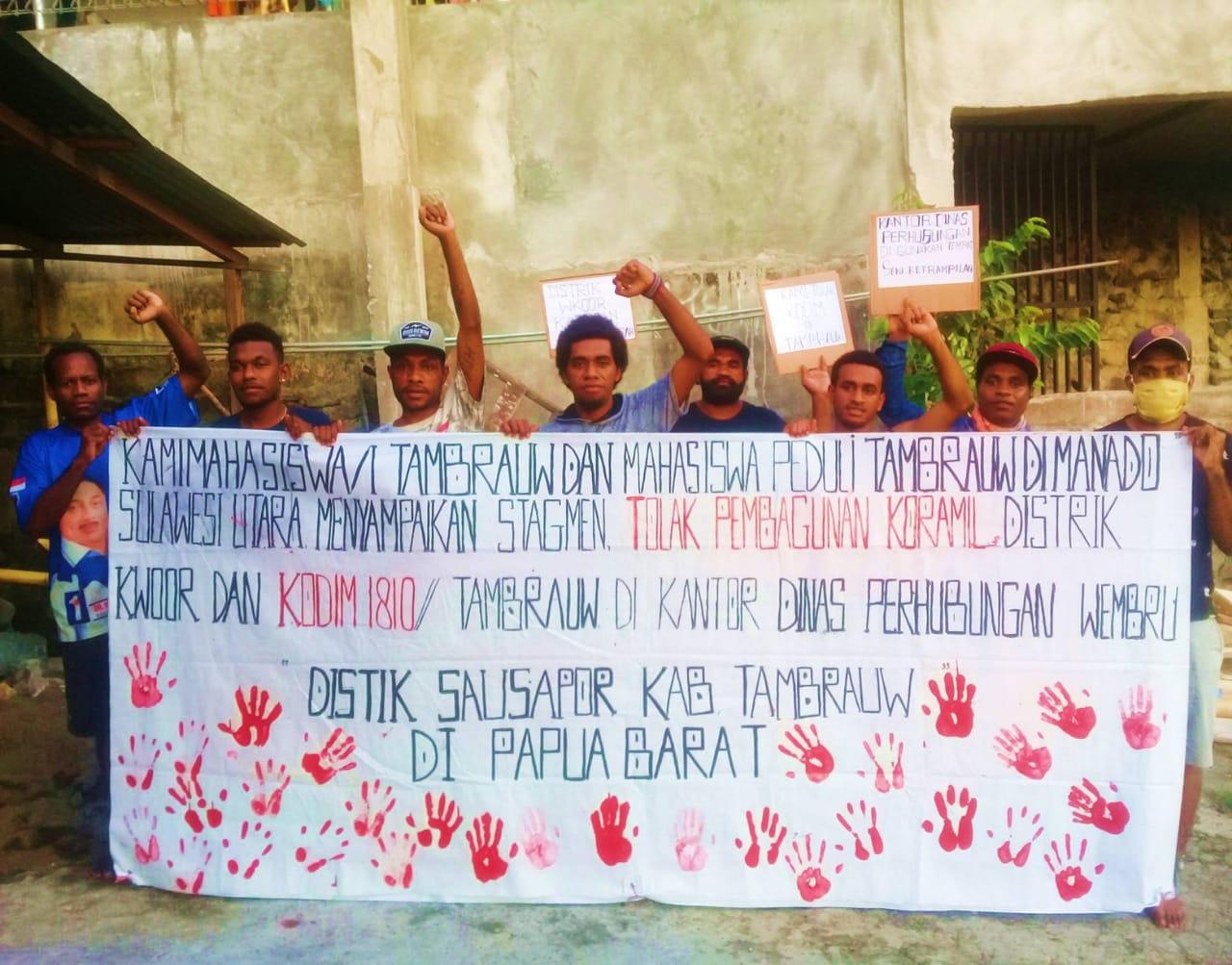 Masyarakat Tambrauw Tra Butuh Kodim Suara Papua